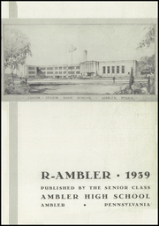 Page 3, 1939 Edition, Ambler High School - Pinnacle Yearbook (Ambler, PA) online yearbook collection