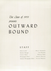 Page 7, 1953 Edition, Abington Friends School - Outward Bound Yearbook (Jenkintown, PA) online yearbook collection