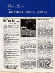 Page 11, 1968 Edition, Abington Friends School - Outward Bound Yearbook (Jenkintown, PA) online yearbook collection