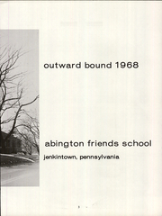 Page 15, 1968 Edition, Abington Friends School - Outward Bound Yearbook (Jenkintown, PA) online yearbook collection