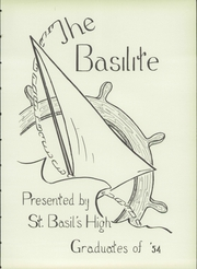Page 7, 1954 Edition, St Basil High School - Basilite Yearbook (Pittsburgh, PA) online yearbook collection