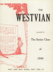 Page 7, 1949 Edition, West View High School - Westvian Yearbook (West View, PA) online yearbook collection