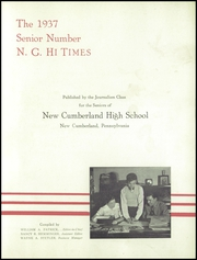 Page 3, 1937 Edition, New Cumberland High School - Shawnee Yearbook (New Cumberland, PA) online yearbook collection