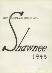 Page 5, 1945 Edition, New Cumberland High School - Shawnee Yearbook (New Cumberland, PA) online yearbook collection