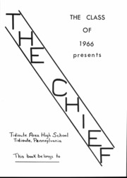 Page 2, 1966 Edition, Tidioute High School - Chief Yearbook (Tidioute, PA) online yearbook collection