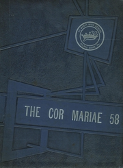 Page 1, 1958 Edition, St Marys High School - Cor Mariae Yearbook (Wilkes Barre, PA) online yearbook collection