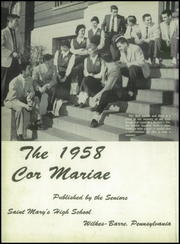 Page 6, 1958 Edition, St Marys High School - Cor Mariae Yearbook (Wilkes Barre, PA) online yearbook collection
