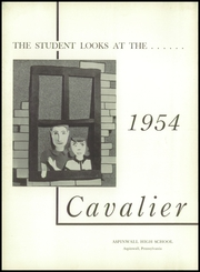 Page 8, 1954 Edition, Aspinwall High School - Cavalier Yearbook (Aspinwall, PA) online yearbook collection