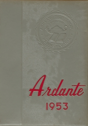 1953 Edition, Ashland High School - Ardante Yearbook (Ashland, PA)