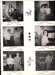 Bentleyville High School - Bear Yearbook (Bentleyville, PA) online yearbook collection, 1956 Edition, Page 33