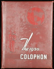 1950 Edition, Hurst High School - Colophon Yearbook (Mount Pleasant, PA)