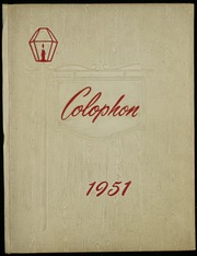 Page 1, 1951 Edition, Hurst High School - Colophon Yearbook (Mount Pleasant, PA) online yearbook collection