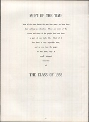 Page 8, 1958 Edition, Hurst High School - Colophon Yearbook (Mount Pleasant, PA) online yearbook collection