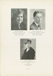 Page 20, 1929 Edition, Zelienople High School - Zelie Ann Yearbook (Zelienople, PA) online yearbook collection