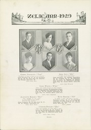 Page 22, 1929 Edition, Zelienople High School - Zelie Ann Yearbook (Zelienople, PA) online yearbook collection