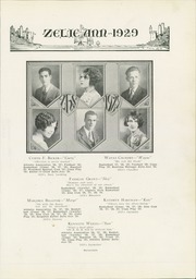 Page 23, 1929 Edition, Zelienople High School - Zelie Ann Yearbook (Zelienople, PA) online yearbook collection