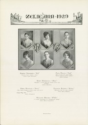 Page 28, 1929 Edition, Zelienople High School - Zelie Ann Yearbook (Zelienople, PA) online yearbook collection