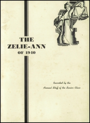 Page 5, 1940 Edition, Zelienople High School - Zelie Ann Yearbook (Zelienople, PA) online yearbook collection