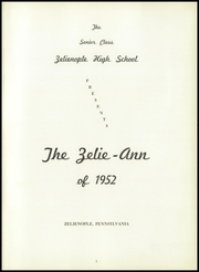 Page 5, 1952 Edition, Zelienople High School - Zelie Ann Yearbook (Zelienople, PA) online yearbook collection
