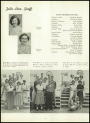 Page 8, 1952 Edition, Zelienople High School - Zelie Ann Yearbook (Zelienople, PA) online yearbook collection
