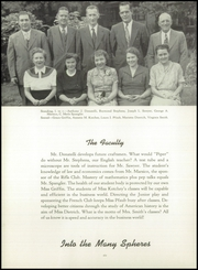 Page 10, 1952 Edition, Etna High School - Piper Yearbook (Etna, PA) online yearbook collection
