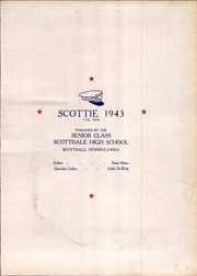 Page 15, 1943 Edition, Scottdale High School - Scottie Yearbook (Scottdale, PA) online yearbook collection