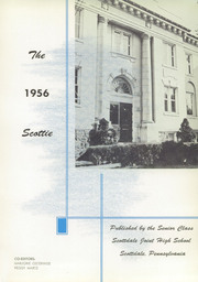 Page 5, 1956 Edition, Scottdale High School - Scottie Yearbook (Scottdale, PA) online yearbook collection