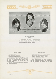 Page 56, 1929 Edition, Mahanoy City High School - Maroon and Black Yearbook (Mahanoy City, PA) online yearbook collection