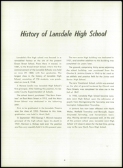 Page 10, 1955 Edition, Lansdale High School - Highlights Yearbook (Lansdale, PA) online yearbook collection