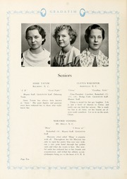 Page 16, 1935 Edition, Sacred Heart College - Gradatim Yearbook (Belmont, NC) online yearbook collection