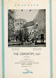 Page 5, 1937 Edition, Sacred Heart College - Gradatim Yearbook (Belmont, NC) online yearbook collection
