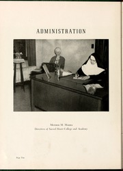 Page 12, 1949 Edition, Sacred Heart College - Gradatim Yearbook (Belmont, NC) online yearbook collection