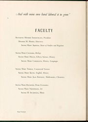 Page 16, 1949 Edition, Sacred Heart College - Gradatim Yearbook (Belmont, NC) online yearbook collection