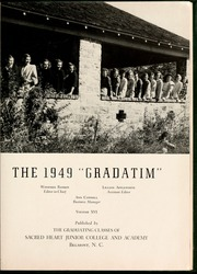 Page 5, 1949 Edition, Sacred Heart College - Gradatim Yearbook (Belmont, NC) online yearbook collection