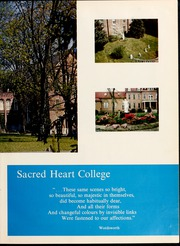 Page 11, 1966 Edition, Sacred Heart College - Gradatim Yearbook (Belmont, NC) online yearbook collection