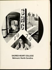 Page 7, 1970 Edition, Sacred Heart College - Gradatim Yearbook (Belmont, NC) online yearbook collection