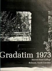 Page 3, 1973 Edition, Sacred Heart College - Gradatim Yearbook (Belmont, NC) online yearbook collection