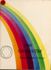 Page 1, 1985 Edition, Sacred Heart College - Gradatim Yearbook (Belmont, NC) online yearbook collection