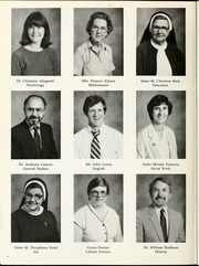 Page 6, 1985 Edition, Sacred Heart College - Gradatim Yearbook (Belmont, NC) online yearbook collection