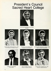 Page 14, 1987 Edition, Sacred Heart College - Gradatim Yearbook (Belmont, NC) online yearbook collection