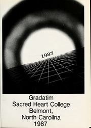 Page 5, 1987 Edition, Sacred Heart College - Gradatim Yearbook (Belmont, NC) online yearbook collection