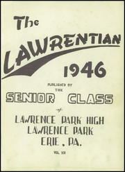 Page 5, 1946 Edition, Lawrence Park High School - Lawrentian Yearbook (Erie, PA) online yearbook collection