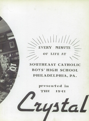 Page 7, 1941 Edition, Southeast Catholic High School - Crystal Yearbook (Philadelphia, PA) online yearbook collection