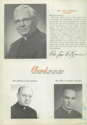 Page 10, 1955 Edition, Saint Joseph High School - Pendulum Yearbook (Pittsburgh, PA) online yearbook collection