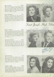 Page 16, 1955 Edition, Saint Joseph High School - Pendulum Yearbook (Pittsburgh, PA) online yearbook collection