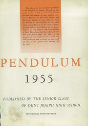 Page 7, 1955 Edition, Saint Joseph High School - Pendulum Yearbook (Pittsburgh, PA) online yearbook collection