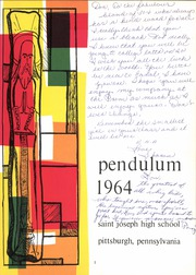 Page 5, 1964 Edition, Saint Joseph High School - Pendulum Yearbook (Pittsburgh, PA) online yearbook collection