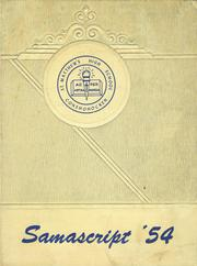 Page 1, 1954 Edition, St Matthews High School - Samascript Yearbook (Conshohocken, PA) online yearbook collection