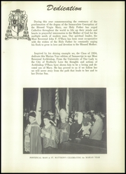 Page 9, 1954 Edition, St Matthews High School - Samascript Yearbook (Conshohocken, PA) online yearbook collection