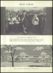 Page 7, 1955 Edition, St Matthews High School - Samascript Yearbook (Conshohocken, PA) online yearbook collection